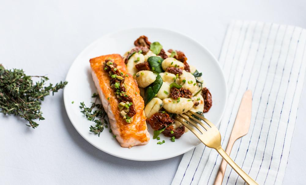 saumon-gnocchi