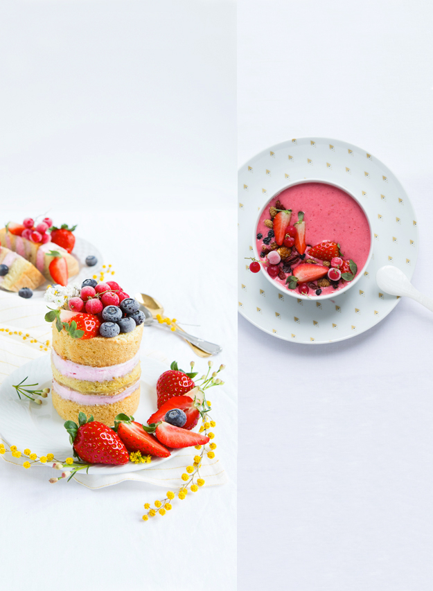 fraise-layer-cake-x-smoothie-bowl