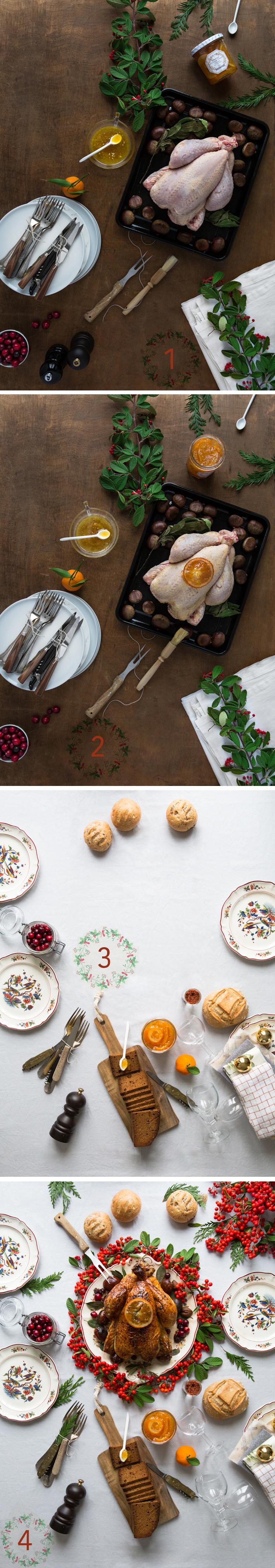 table en fête portrait