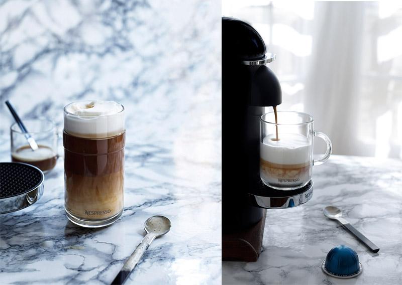 café latte nespresso