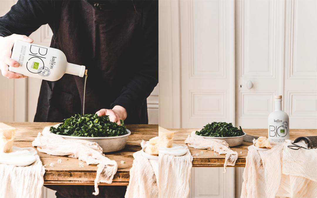 ajoutez l'huile d'olive kalios