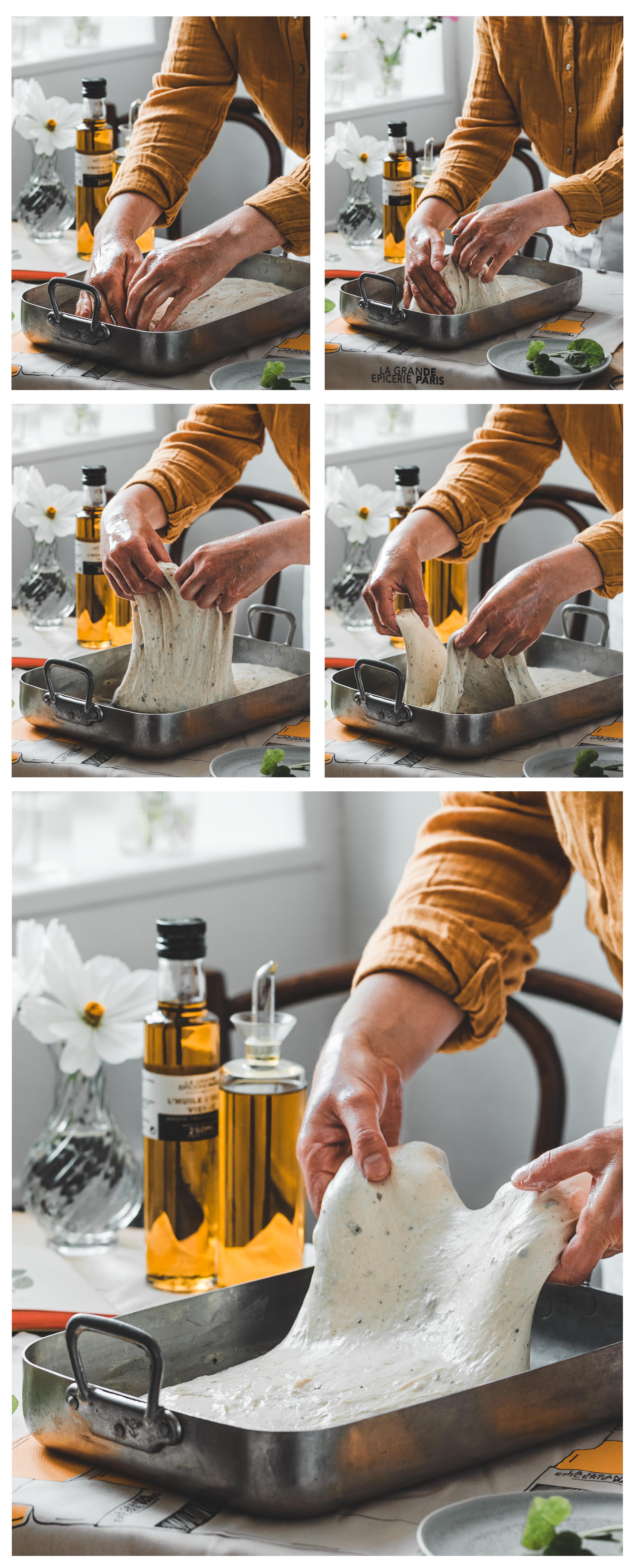 façonnage de la pâte