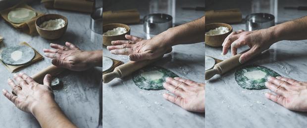 abaissez la pâte
